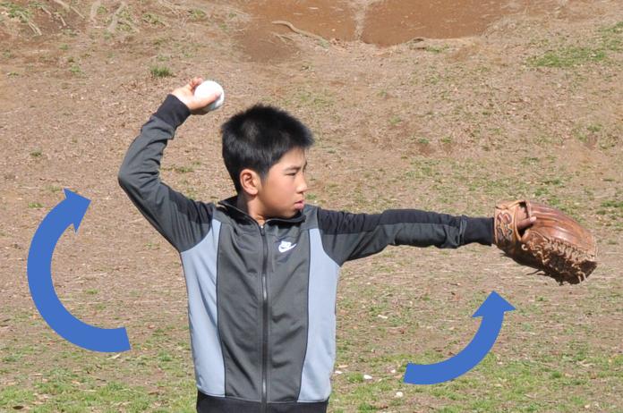 キャッチボール投げ方トップ